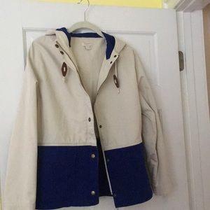 Jcrew jacket size s, dual color